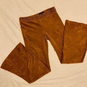 Belled and Studded Velvet Pants 🍂🍂